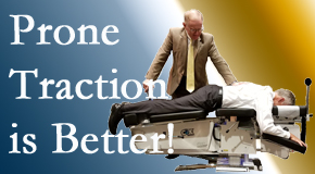 San Jose spinal traction applied lying face down – prone – is best according to the latest research. Visit Chiropractic Solutions.