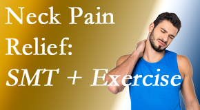 Chiropractic Solutions offers a pain-relieving treatment plan for neck pain that includes exercise and spinal manipulation with Cox Technic.