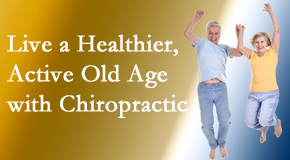 Chiropractic Solutions welcomes older patients to incorporate chiropractic into their healthcare plan for pain relief and life's fun.