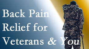 Chiropractic Solutions cares for veterans with back pain and PTSD and stress.