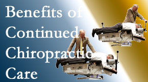 Chiropractic Solutions presents continued chiropractic care (aka maintenance care) as it is research-documented as effective.