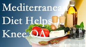 Chiropractic Solutions shares recent research about how good a Mediterranean Diet is for knee osteoarthritis as well as quality of life improvement.