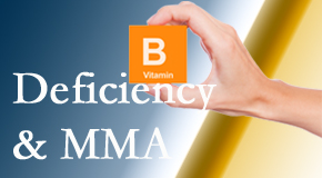 Chiropractic Solutions knows B vitamin deficiencies and MMA levels may affect the brain and nervous system functions.