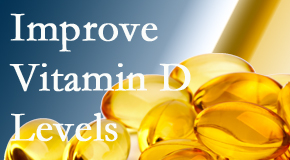 Chiropractic Solutions explains that it's beneficial to raise vitamin D levels.