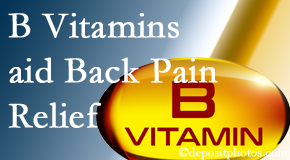 Chiropractic Solutions may include B vitamins in the San Jose chiropractic treatment plan of back pain sufferers.