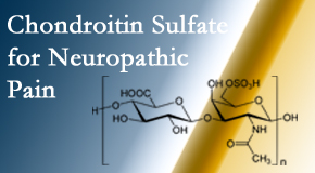 Chiropractic Solutions finds chondroitin sulfate to be an effective addition to the relieving care of sciatic nerve related neuropathic pain.