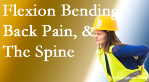 Chiropractic Solutions helps workers with their low back pain due to forward bending, lifting and twisting.