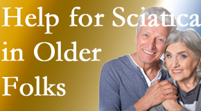 Older back pain and leg pain sufferers feel understood and are helped at Chiropractic Solutions.