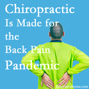 San Jose chiropractic care at Chiropractic Solutions is prepared for the pandemic of low back pain.