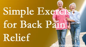 Chiropractic Solutions encourages simple exercise as part of the San Jose chiropractic back pain relief plan.