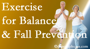 San Jose chiropractic care of balance for fall prevention involves stabilizing and proprioceptive exercise.