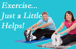 Chiropractic Solutions encourages exercise for improved physical health as well as reduced cervical and lumbar pain.