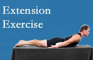 Chiropractic Solutions recommends extensor strengthening exercises when back pain patients are ready for them.