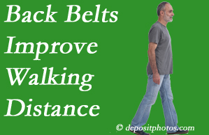 Chiropractic Solutions sees benefit in recommending back belts to back pain sufferers.