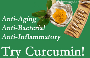 Pain-relieving curcumin may be a good addition to the San Jose chiropractic treatment plan.