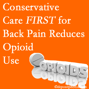 Chiropractic Solutions delivers chiropractic treatment as an option to opioids for back pain relief.