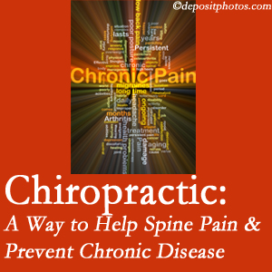 Chiropractic Solutions helps relieve musculoskeletal pain which helps prevent chronic disease.